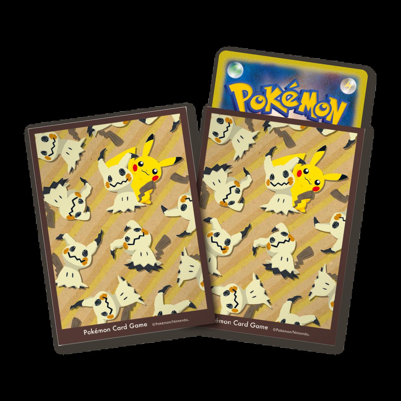 ポケモンカードゲーム デッキシールド ミミッキュいっぱい